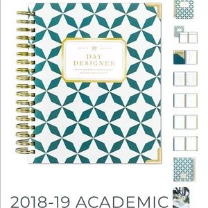 2018 2019 Academic Day Designer Planner